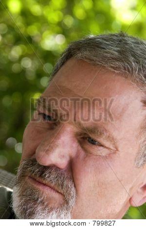 Man Looking Away at an Angle