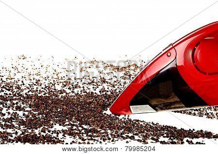 Red Vacuum
