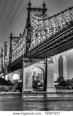Queensboro (ed Koch) Bridge From Manhattan