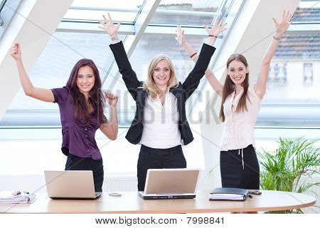Three Women Jubilating