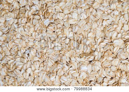 Delicious Food Background Of Beige Cereals
