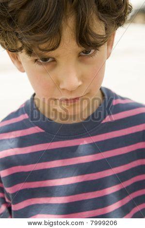 unglücklich boy