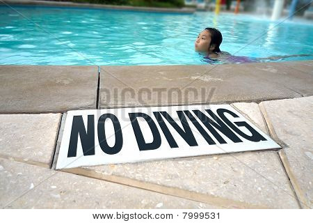 """No Diving"" in the Pool"