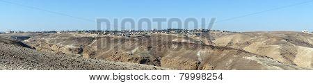 Arad And Mountain