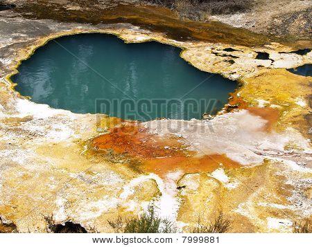 Volcanic pool.
