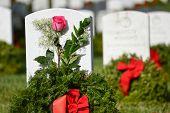 stock photo of arlington cemetery  - Washington DC  - JPG