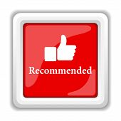 stock photo of recommendation  - Recommended icon - JPG