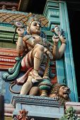 picture of trichy  - Vishnu is Supreme God in the Vaishnavite tradition of Hinduism  - JPG