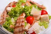 picture of caesar salad  - Close - JPG