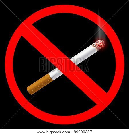 Sign Prohibiting Smoking