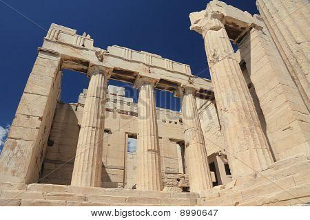Propylaea Of Acropolis, Athens, Greece