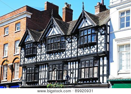 Timber framed building, Shrewsbury.