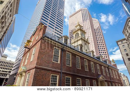 Old State House In Boston, Massachusetts