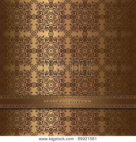 Seamless vintage pattern in oriental style