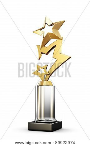 Star Awards Isolated On White Background