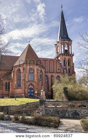 Church Wustrow Germany