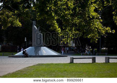 Monument Of King Mindaugas