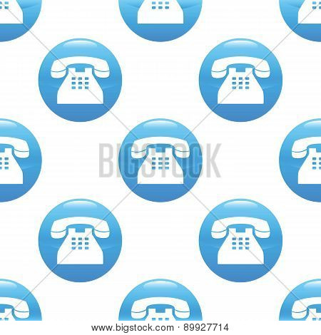 Old phone sign pattern
