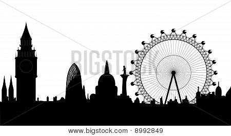 London Skyline - Vektor