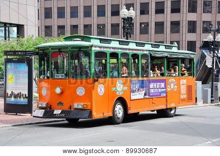 Boston Old Town Trolley Tours, USA