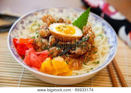 Salt ramen soup