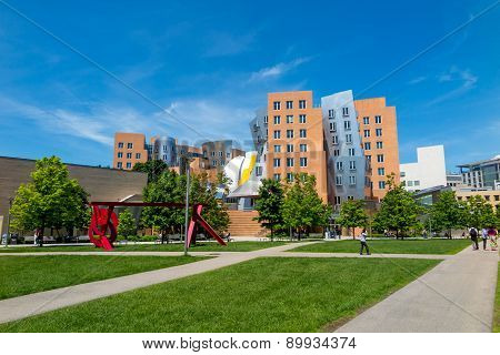 Ray And Maria Stata Center On The Campus Of Mit