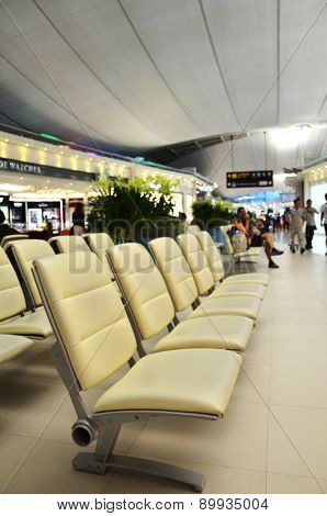Suvarnabhumi Airport Interior