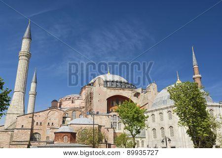 Hagia Sophia Exterior, Istanbul, Turkey