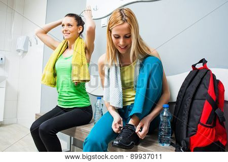 Sporty girls