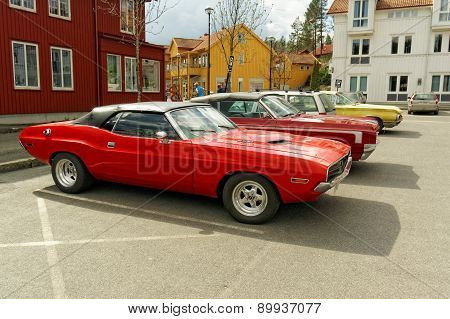 Plymouth Superbird In Red