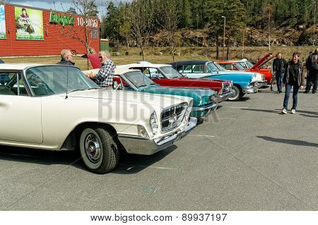 Colorful Old Cars
