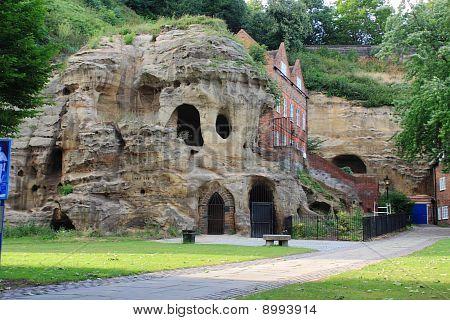 caves at nottingham castle