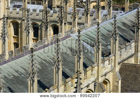 Church Roof tops Oxford