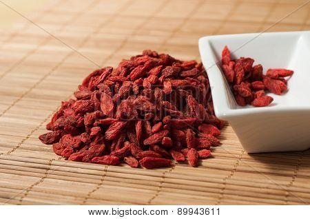 Goji Berries Chinese Wolfberry (lycium Barbarum)