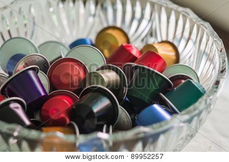 refills of coffee capsules