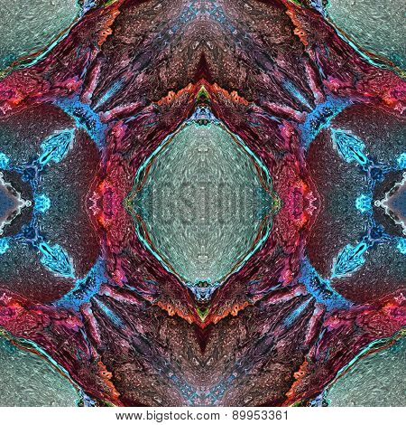 Seamless Kaleidoscope Texture Or Pattern Colorful Spectrum 7