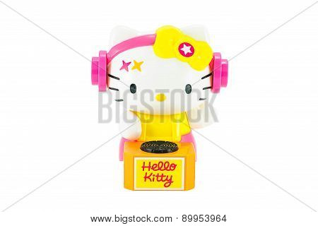 Hello Kitty Dj Costume Toy Character Figure