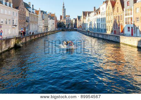 Canal Spiegel Rei, Bruges