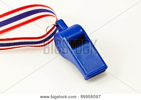 the blue whistle