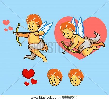 Flying Cupid Set