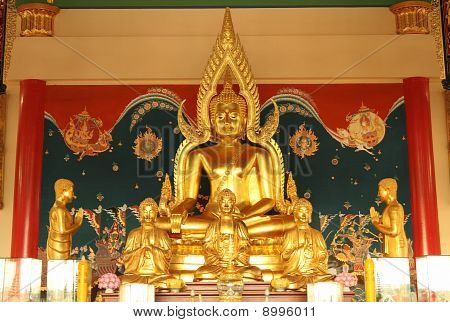 Buddha Statuary In Thailand