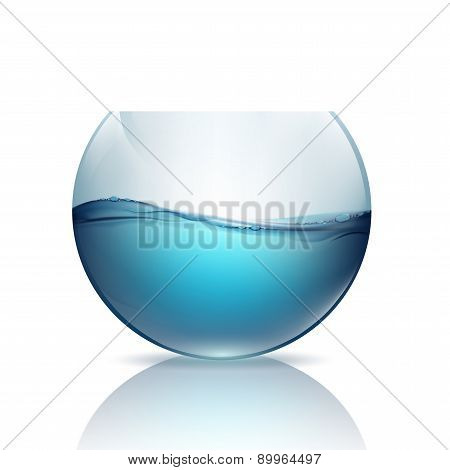 Fishbowl With Water