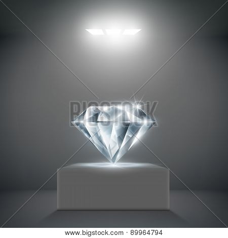 Diamond On A Pedestal