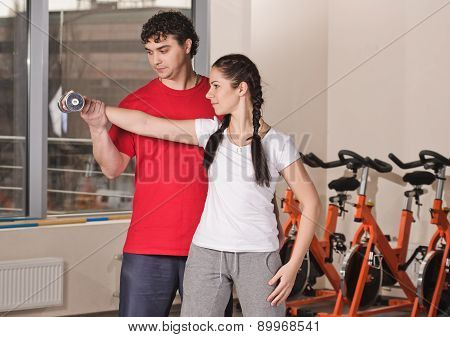Trainer in the Gym