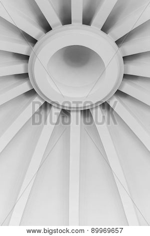 abstract background of a roof canopy
