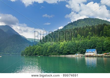 Lake Riza. Abkhazia
