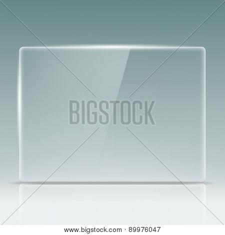 Transparent Glass Screen