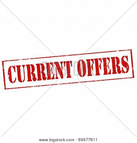 Current Offers-stamp