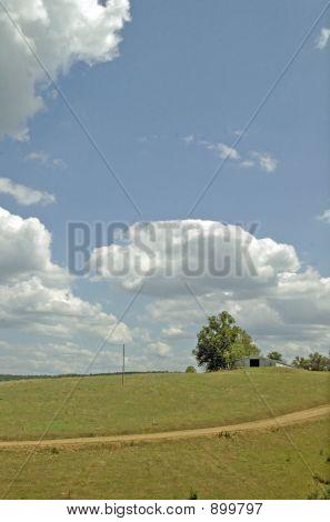 Barn On Hill 2