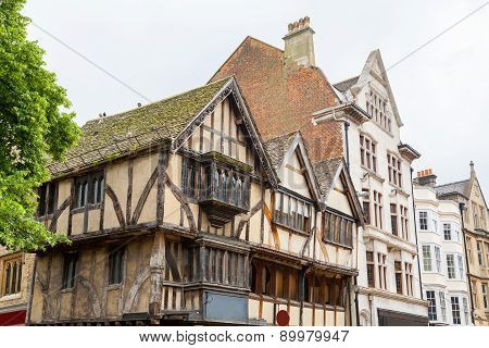 Old Buildings In Oxford. England